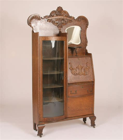 antique drop front secretary desk with bookcase antique secretary desk for bookcase roselawnlutheran