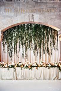 wall drapes for weddings greenery curtain of hanging vines wedding flowers photos