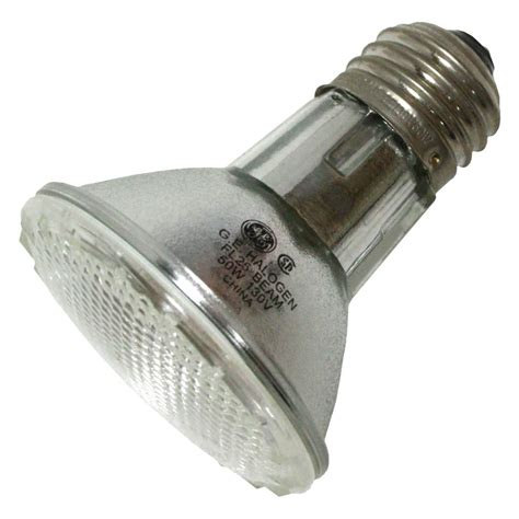 ge halogen incandescent light bulb ge 69148 38par20hir fl30 120v par20 halogen light bulb