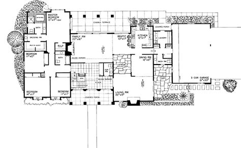house plans with atrium garden homes with atriums floor buat testing doang small atrium house floor plans