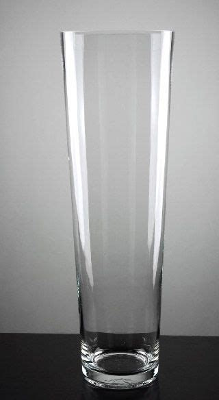 tapered glass cylinder vase 20 in bat mitzvah
