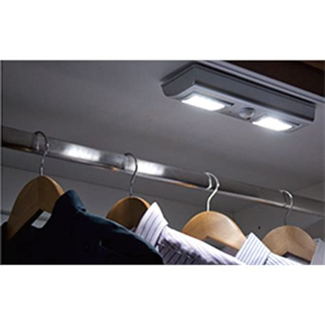 flatpax led motion sensor wardrobe light bunnings warehouse