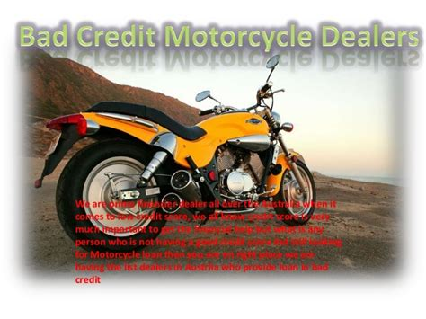 Motorcycle Dealers For Bad Credit bad credit motorcycle dealers in australia