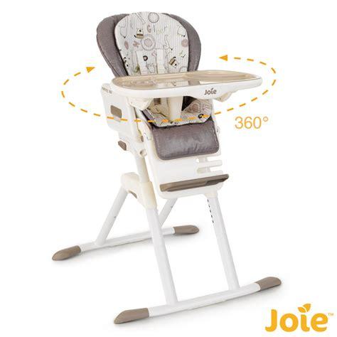 chaise haute des la naissance chaise haute mimzy 360 joie avis