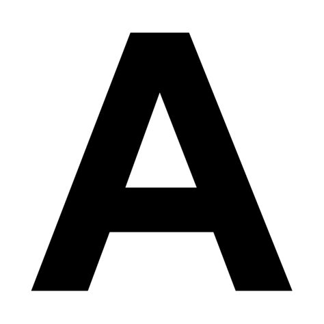 Black Letter Methodology abc vector stencils library