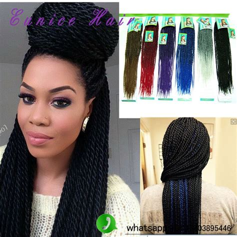 premade synthetic senegalese twist pre twisted hair senegalese cheap synthetic hair black