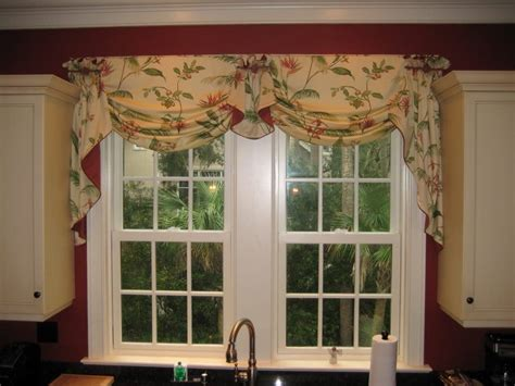 kitchen window valances ideas ideas treatment windows kitchen valances decor for