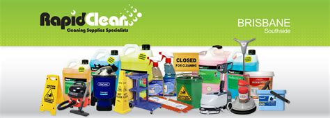 rapidclean brisbane south side cleaning supplies specialists