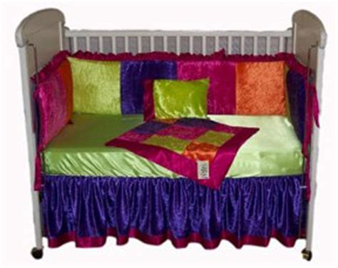 bright multi colored comforters girls multi colored bright velvet crib bedding 4 piece set