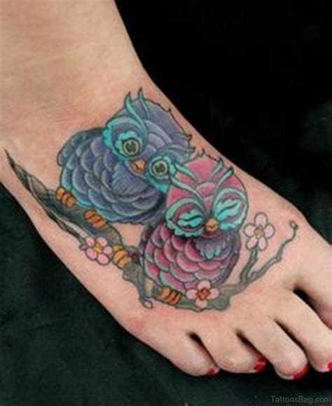 owl tattoo designs for foot 55 impressive owl tattoos on foot