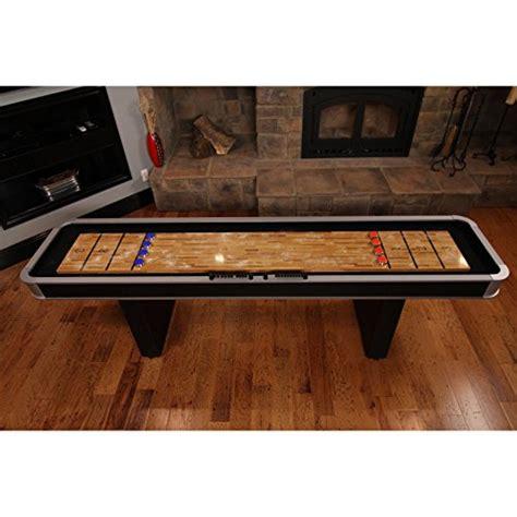 9 ft shuffleboard table atomic 9 ft platinum shuffleboard table room megastore