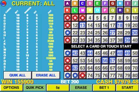 keno pattern numbers keno multi card keno 20 card keno