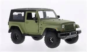 Jeep Wrangler Toys Jeep Wrangler Matt Oliv Black 2007 Toys Diecast Model