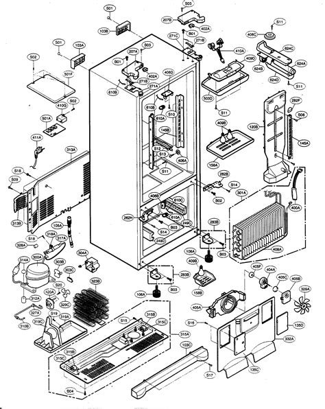 kenmore refrigerator parts diagram kenmore elite refrigerator parts model 79575196401