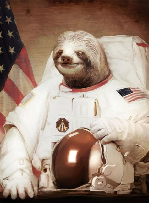 Astronaut Sloth Meme - astronaut sloth blank template imgflip