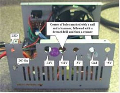 Bench Dc Power Supply Diy Regulated Power Supply 12v 5v And 3v From Pc Psu