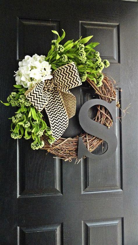wreath ideas for front door best 25 front door decor ideas on pinterest door