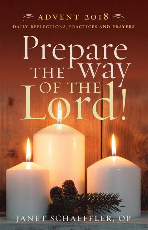 prepare     lord daily reflections practices  prayers  advent