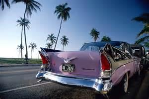 vintage car in miami