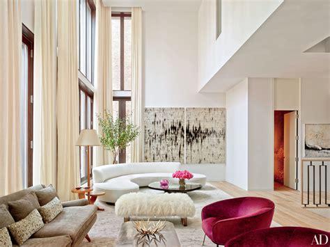 manhattan living room 15 beautiful homes featuring vladimir kagan furniture photos architectural digest