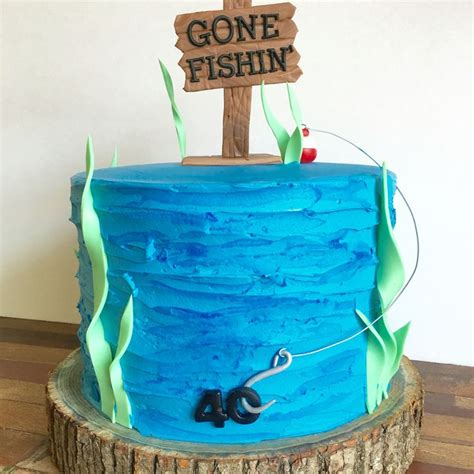 fishing boat birthday images 25 best ideas about gone fishing cake on pinterest