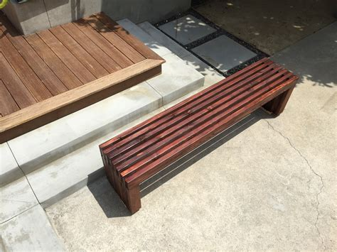 wood slats for bench wood slats for bench 28 images ana white modern slat top outdoor wood bench diy