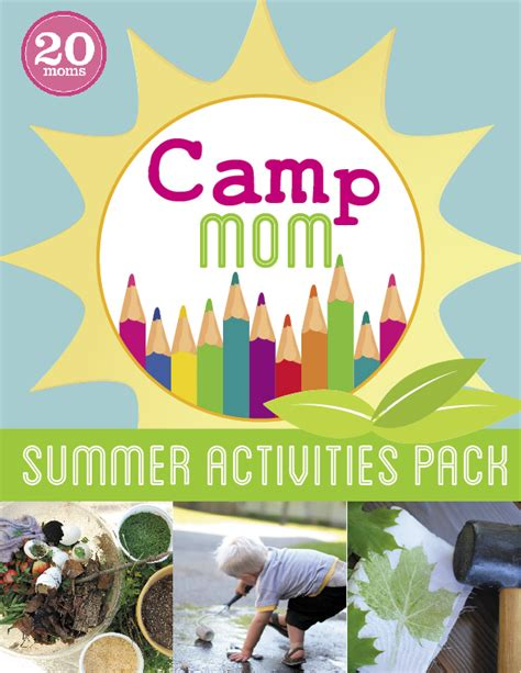 summer themed events c mom summer activities pack includes water nature