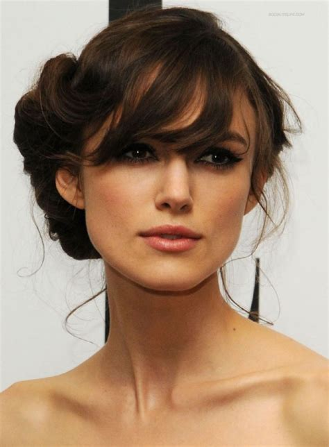 hairstyles for average person 23 best side sweep bangs images on pinterest famous