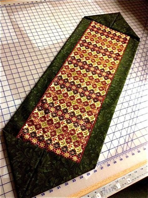 10 Minute Place Mat Pattern - ten minute table runner free pattern and pics from your