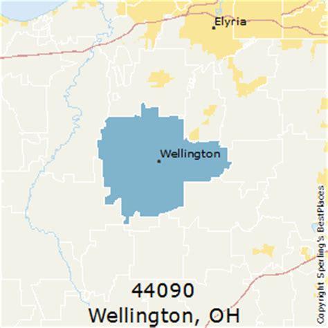 wellington ohio map best places to live in wellington zip 44090 ohio