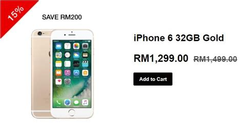 iphone 6 with 32gb storage drops to rm1 299 lowyat net