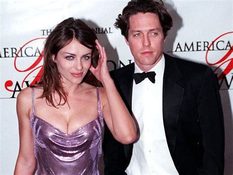 Why Ex Hugh Grant Didnt Show For Lizs Wedding by The Bit Fizzled Out She S My Bff Hugh Grant On His