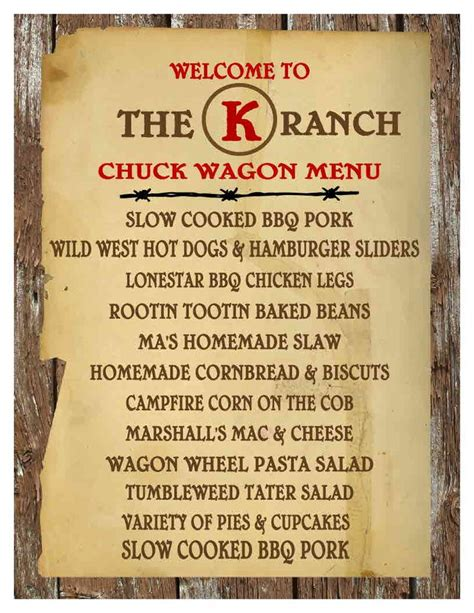 themes com menu pin by ashley magloughlen malone on wild west party