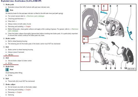 audi a6 brake caliper torque specs for brake calipers audiworld forums