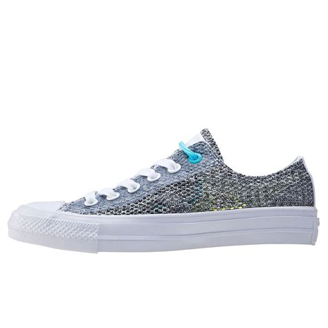 Converse Ct Tinggi Gray converse ct all ii ox lunarlon womens trainers in grey blue