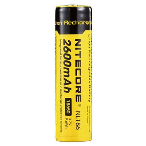 Nitecore 18650 Baterai Li Ion 2600mah 3 7v Nl1826 Promo nitecore 18650 baterai li ion 2600mah 3 7v nl1826 black yellow jakartanotebook
