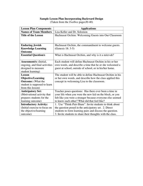 eei lesson plan template search results for madeline blank template