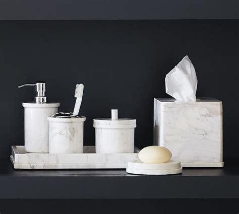 monique lhuillier marble bath accessories pottery barn