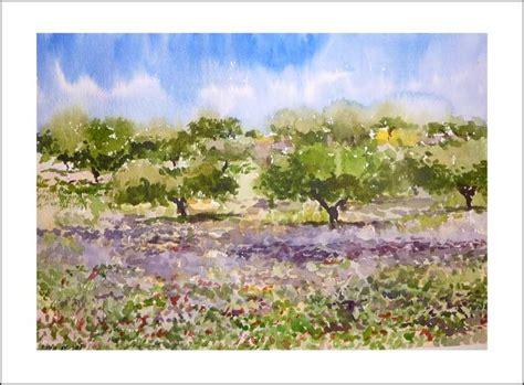 imagenes de paisajes en acuarela paisajes en acuarela sencillos tutoriales pintura esp