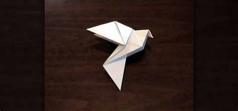 Origami Dove - how to origami a dove for easter or earth day 171 origami