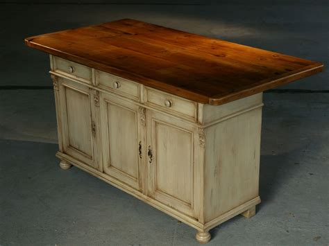 custom kitchen island furniture european sideboard base in snow white with 6ft table top in