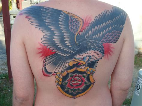 eagle back tattoo eagle tattoos designs ideas and meaning tattoos for you