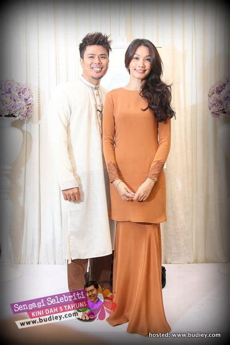 Baju Nikah Scha Alyahya gambar scha alyahya awal ashaari di majlis pengumuman kahwin sensasi selebriti