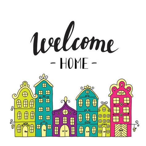 home illustrations royalty  vector graphics