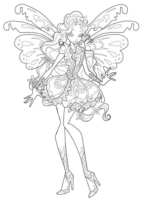 www coloring winx butterflix coloring pages to and print for free