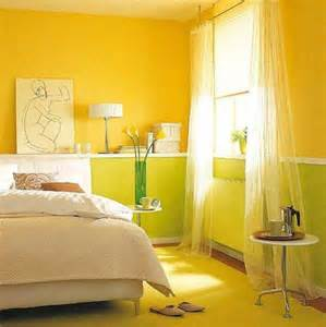 superior Green Colour Schemes For Bedrooms #3: 7-colors-yellow-green.jpg