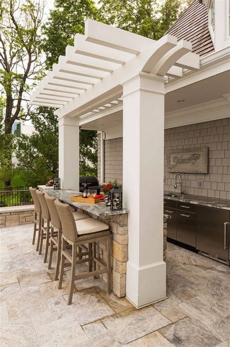 Patio With Grill Design by Best 20 Small Outdoor Kitchens Ideas On