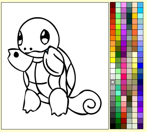 Pokemon Coloring Pages Online Game | spiderman colouring games online play play color