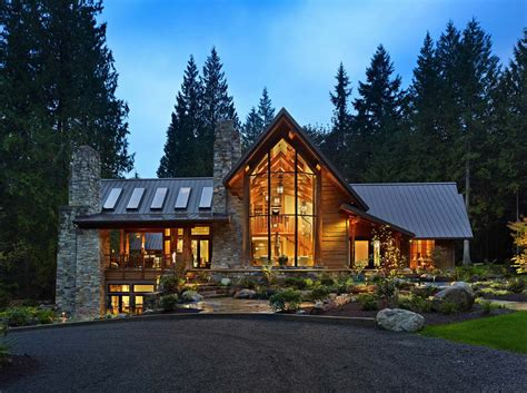 rustic contemporary rustic contemporary home nestled in secluded forests of