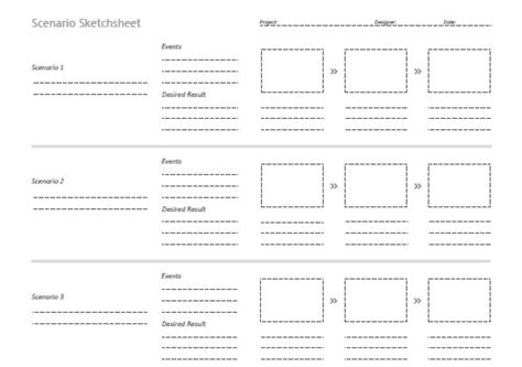 magazine storyboard template free printable sketching wireframing and note taking pdf